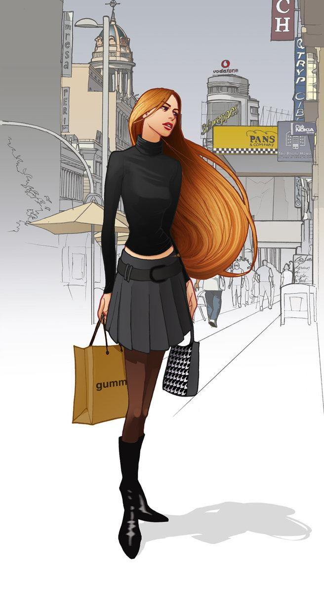 shopping in Madrid by ~javieralcalde