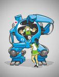 mech makes everything easier by *dracoimagem-com