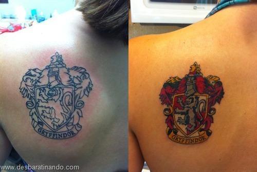 Tatuagens para fãs de Harry Potter ~ Desbaratinando