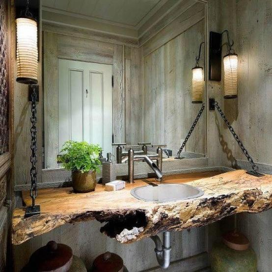 reclaimed-wood-bathroom-countertop.jpg (554×554)