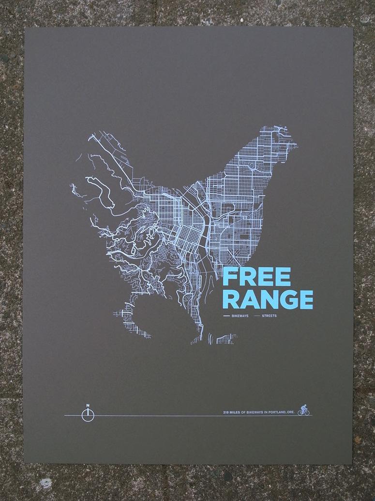 FPO: ARTCRANK Free Range Poster