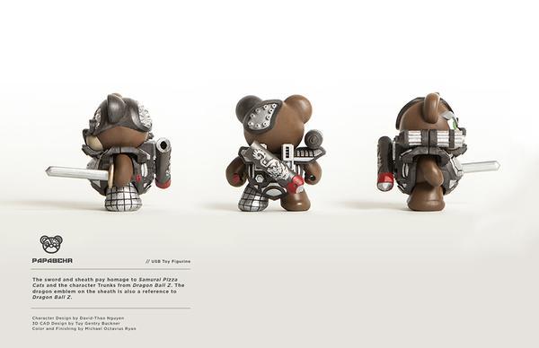 Papabehr USB Toy Figurine on Toy Design Served