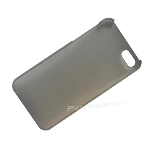 Grey Discoverybuy Hard Case for iPhone 5 with Slim Back Cover- iphone5casefans.com