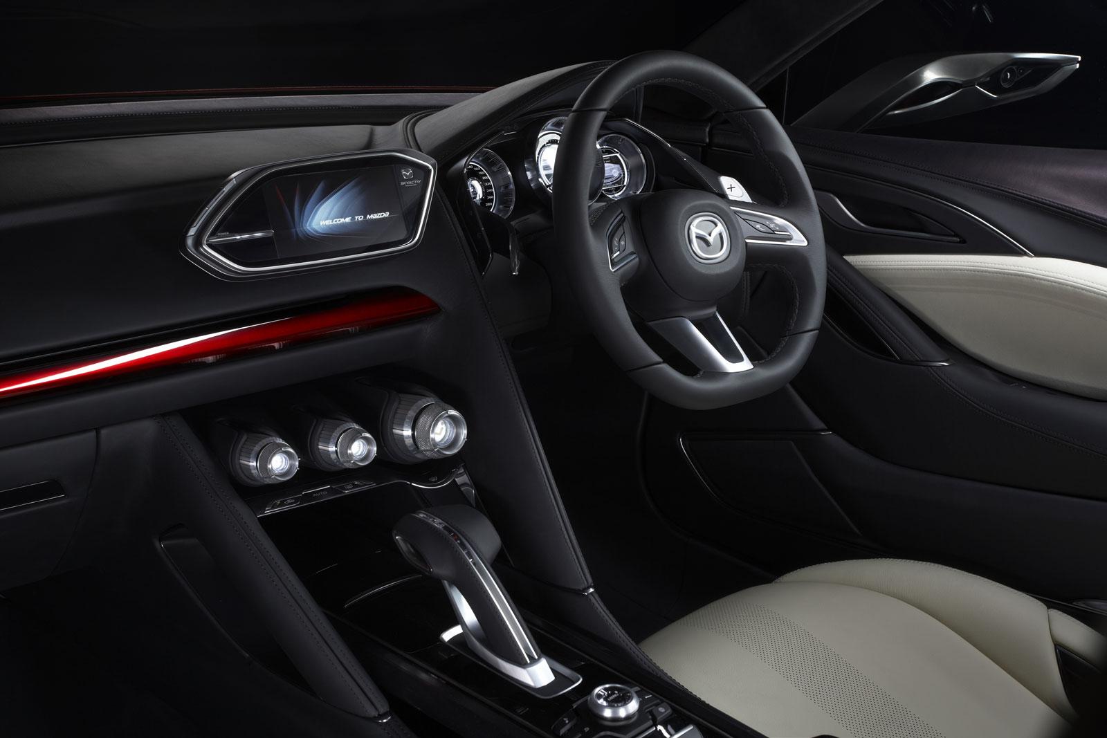 Mazda Takeri Concept Interior Rendering - Car Body Design