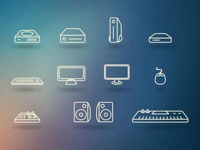 Tech Icons by Matt D'Angelo