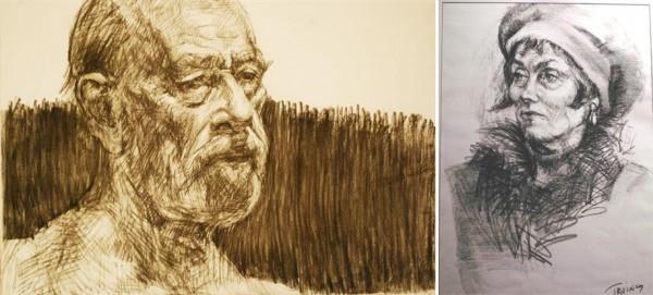 Works on Paper | Portrait Artists Australia