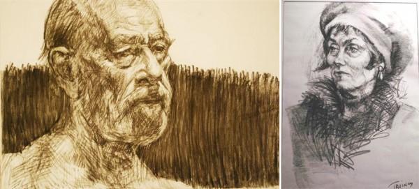 Works on Paper   Portrait Artists Australia