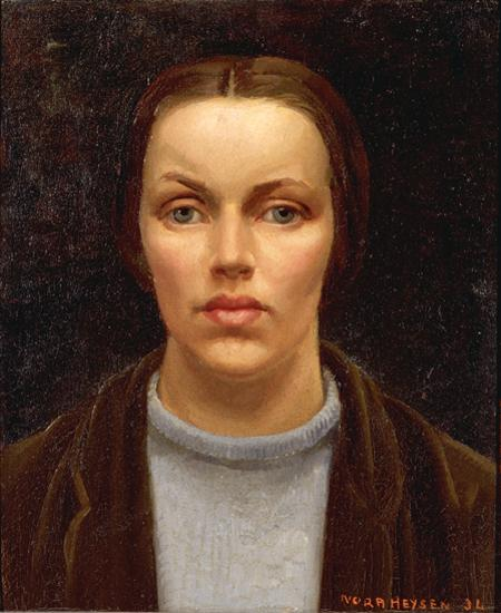 National Portrait Gallery, Canberra - Self portrait, 1934