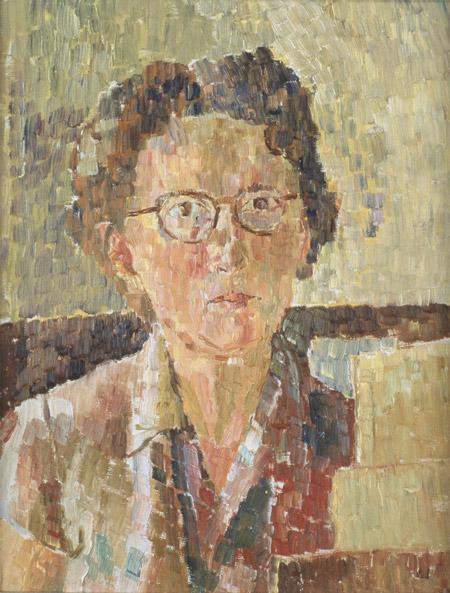 National Portrait Gallery, Canberra - Self portrait, 1948