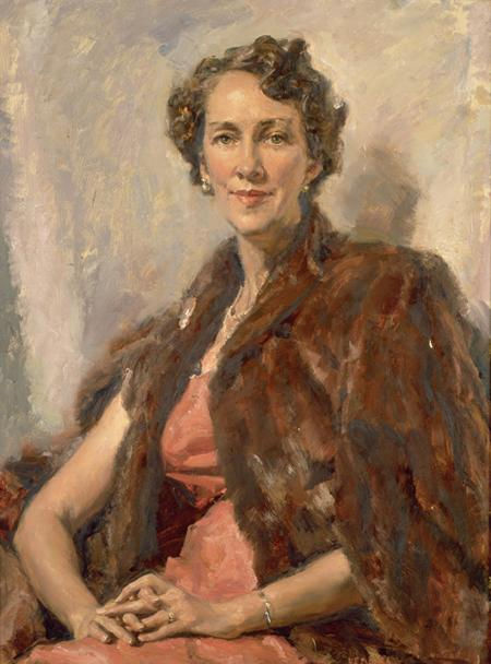 National Portrait Gallery, Canberra - Senator Dame Nancy Buttfield DBE, 1958