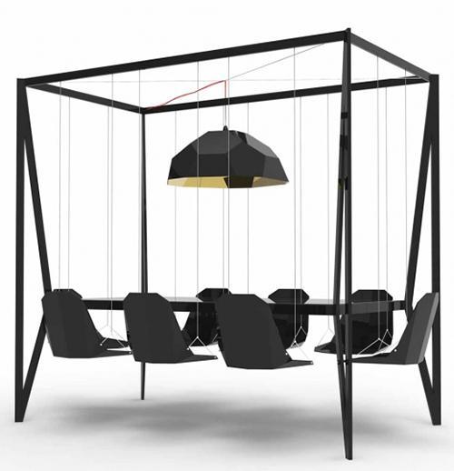 Swing Table Swing Table Design by Duffy London
