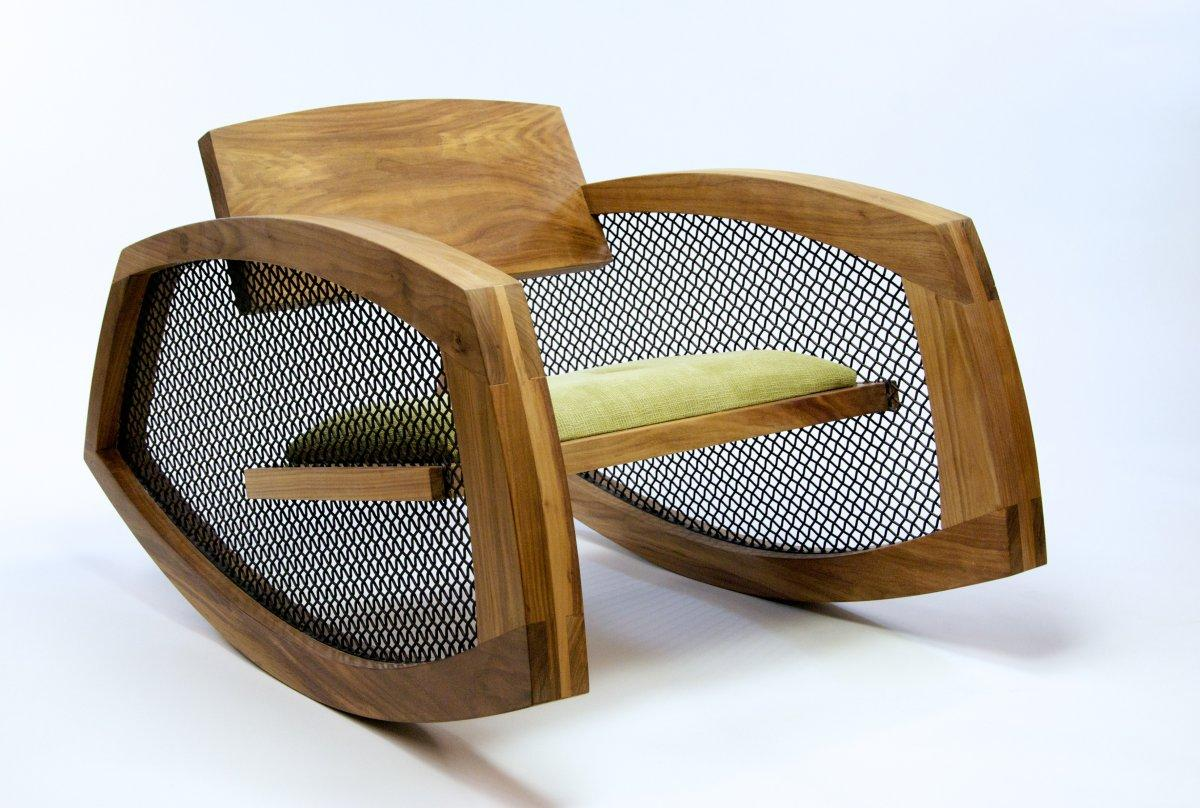 Rocking Chair Innovative Rocking Chair Design by Brendan Gallagher