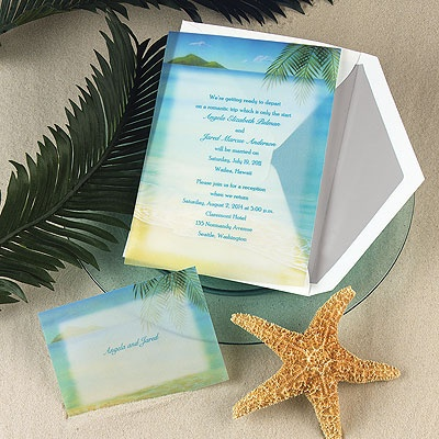 Paradise Found - Invitation | InvitationsByDawn