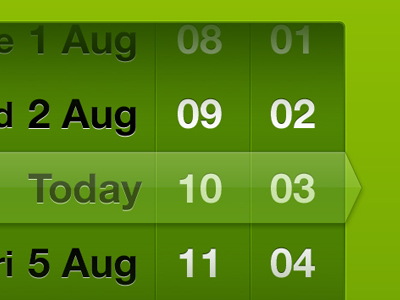 iPhone App Timer by Matt Hryhorsky