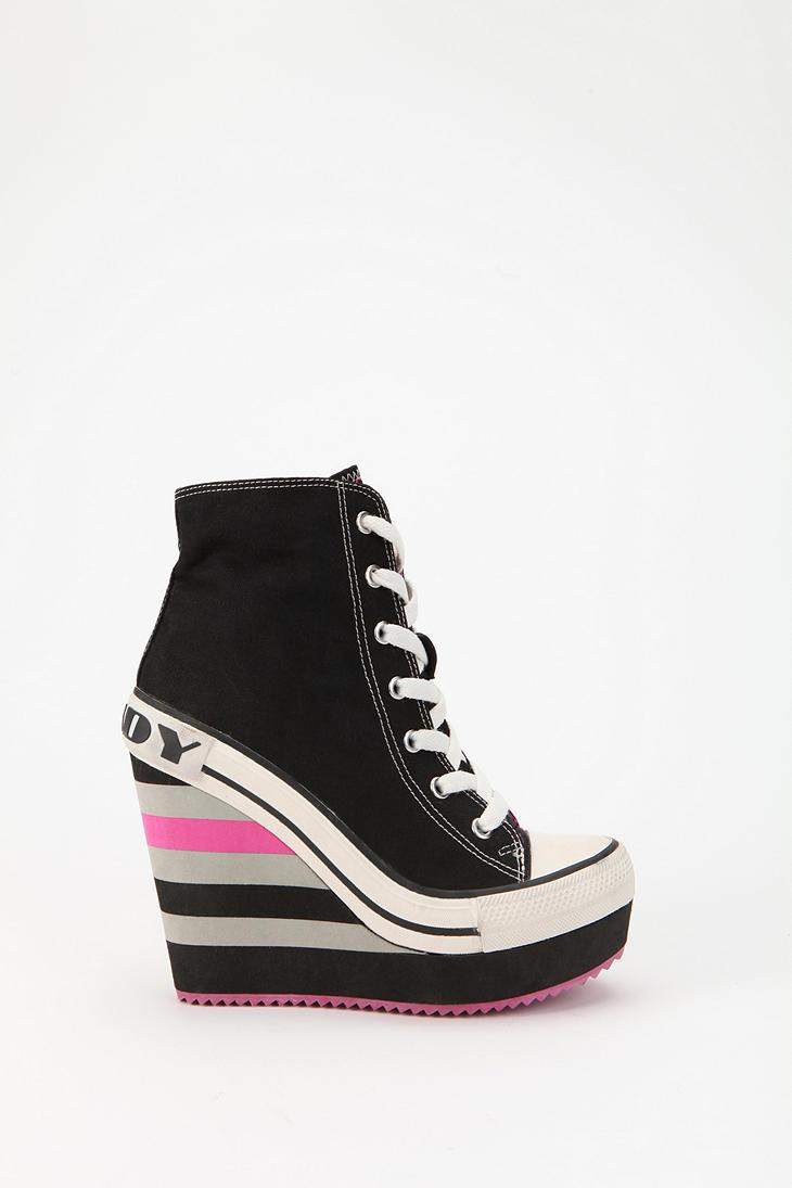 Rock & Candy by Zigi Canvas Wedge Sneaker - Urban Outfitters