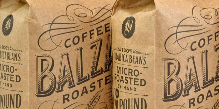 Balzac's Coffee Roasters - The Dieline -