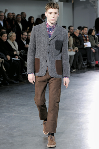 COOL e CHIC style to dress italian: JUNYA WATANABE MAN fall 2011 details