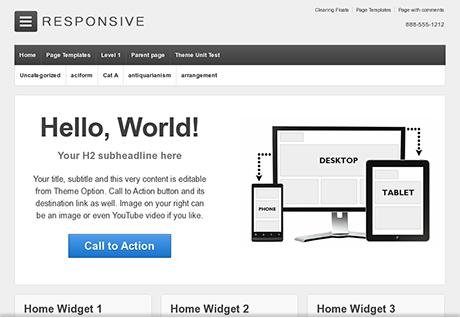 Responsive WordPress Theme | Free Responsive Themes for WordPress | ThemeID