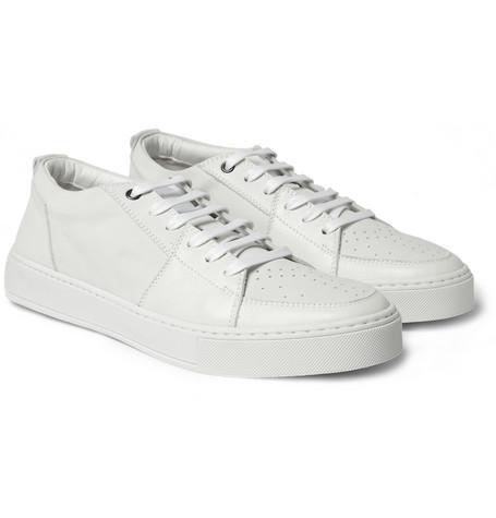 Yves Saint LaurentMalibu Leather Sneakers|MR PORTER