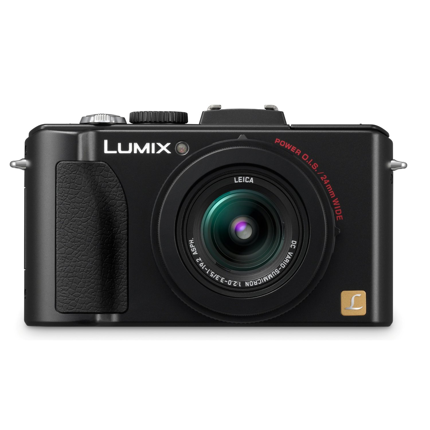 Amazon.com: Panasonic Lumix DMC-LX5 10.1 MP Digital Camera with 3.8x Optical Image Stabilized Zoom and 3.0-Inch LCD - Black: Camera & Photo