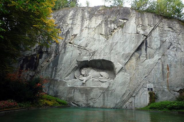 Lucerne lion monument, Switzerland | Flickr : partage de photos !