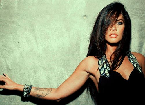 beautiful, girl, hair, megan fox, photography, pretty - inspiring picture on Favim.com