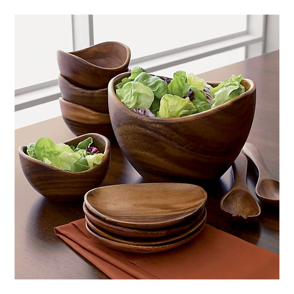 Acacia Bowls and Servers in Best Sellers | Crate&Barrel