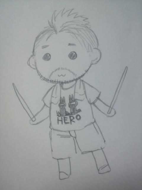 へるにゃん?Tシャツの柄とか覚えてない… on Twitpic