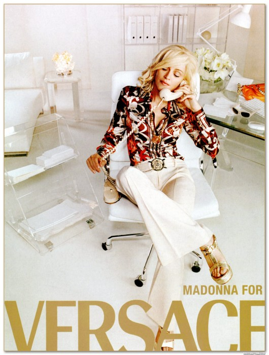 WANKEN - The Blog of Shelby White» Vintage Versace Madonna Ad Campaign