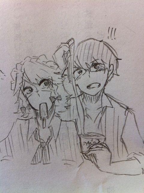 のび~るあいすたべたいぷ on Twitpic