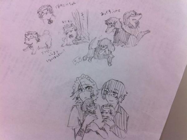 ぽにいちゃんとあっくすふんど on Twitpic