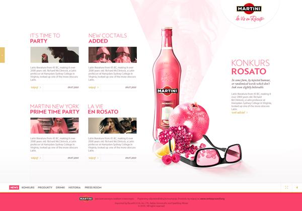 Martini - la Vie en Rosato