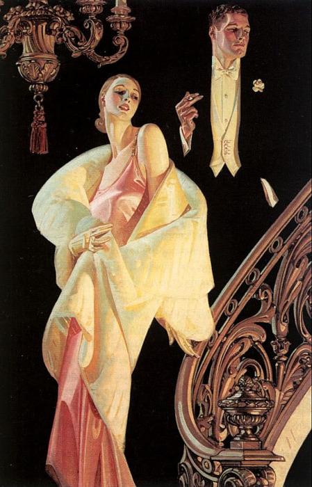 N&K, J.C. Leyendecker, 1932