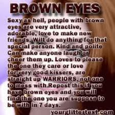 In your brown eyes lyrics