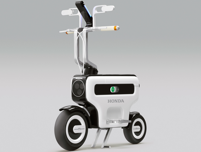 tokyo motor show - honda motor compo foldable electric scooter