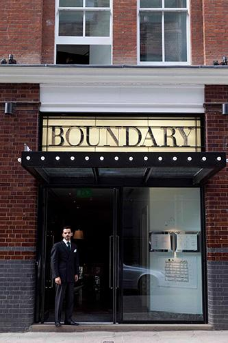 Boundary Restaurant, Rooms and Rooftop