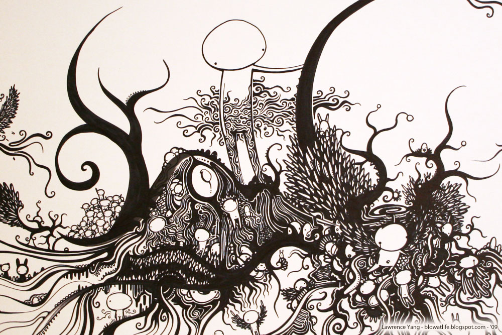 Big Doodle - artwork by Lawrence Yang