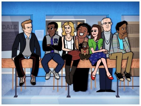 Cartoonized TV Shows and Movies | thaeger - blog this way