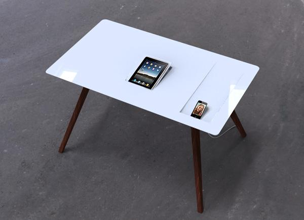 iDesk iDesk Apple Desk Design by Sebastian Lara