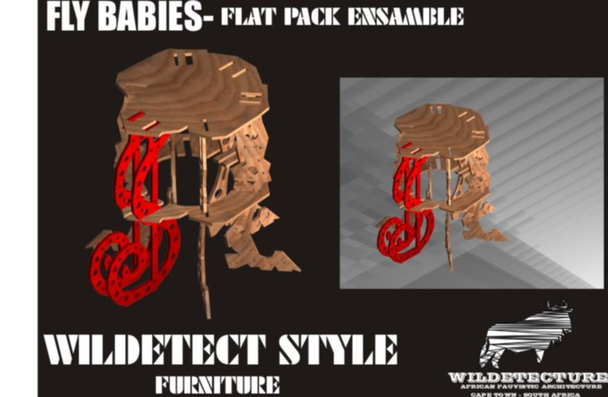 Wildetect Fly Baby Flat Chair Wildetect Fly Baby Flat Chair Design by Wildetecture