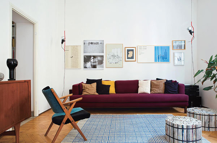 design attractor: Italy Meets Scandinavia - Apartment in Milan