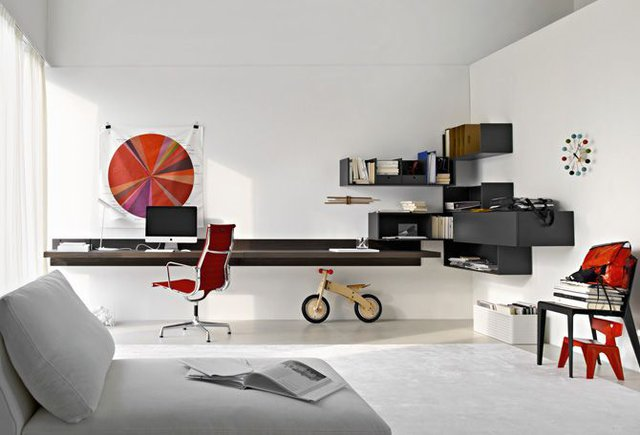Fancy - Fortepiano Shelving by Molteni&C
