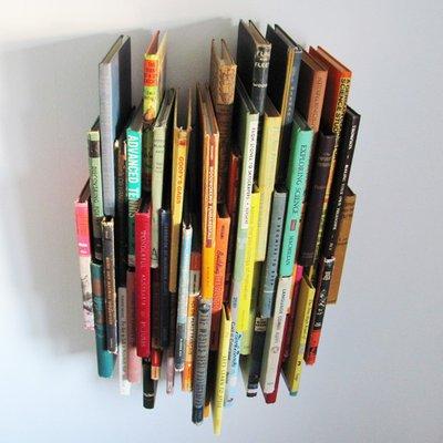 Fancy - Wall Sculpture 51 Books