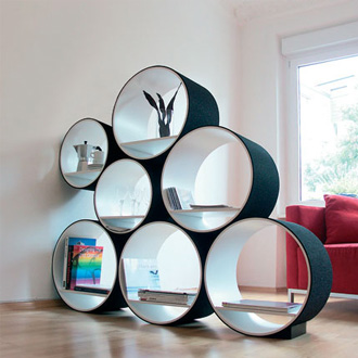 Fancy - Doris Kisskalt FlexiTube Modular Shelving