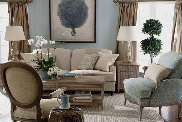 Ethan allen furniture interior design for Ethan allen living room designs