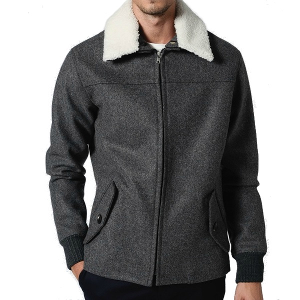 APC Grey Wool Bomber discount sale voucher promotion code | fashionstealer