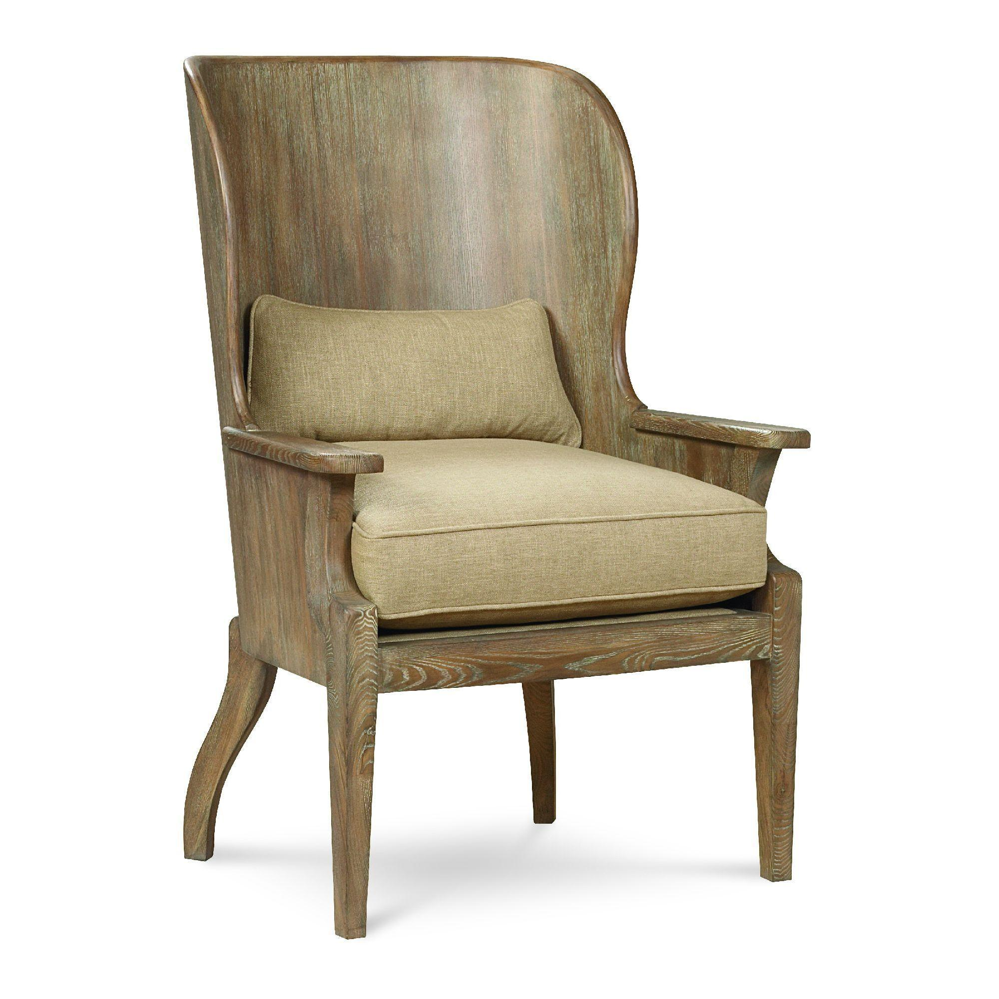 Schnadig Home Wood Wing Chair - Schnadig-8550-314-a | Candelabra, Inc.
