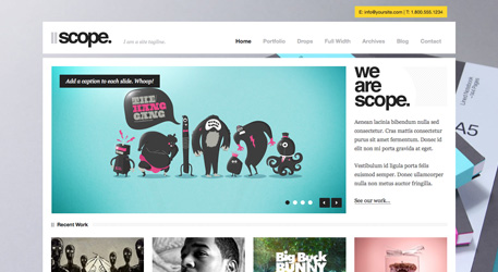 The Best Designs / Best Web Design Awards & CSS Gallery » Scope