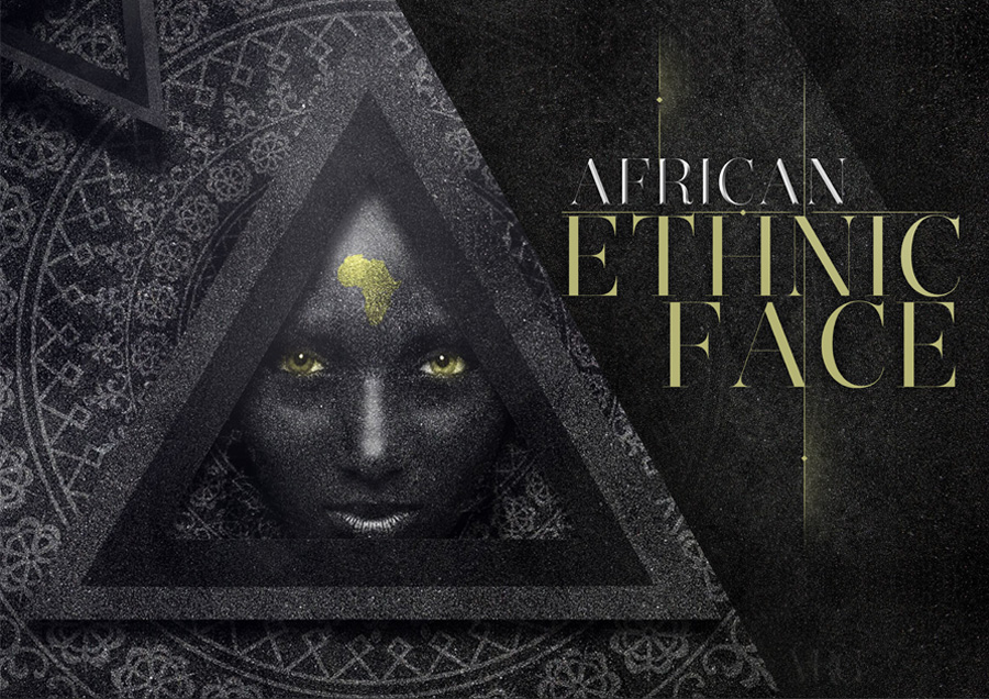 Africa face by MRG