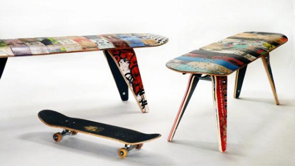 Skateboard Seating Skateboard Seating Design by deckstools
